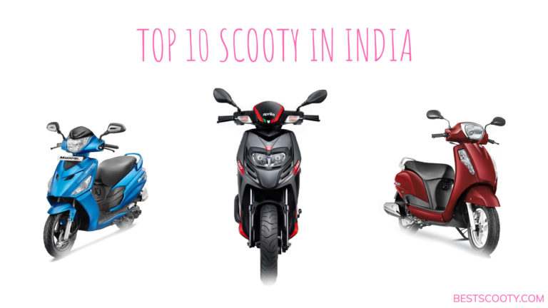 TOP 10 SCOOTY IN INDIA