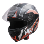 Headfox Terminator Full Face Graphic Helmet