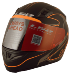 LS2 WV001RCA0392 Roller Full Face Helmet with Mirror Visor