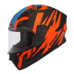 SMK Helmets Mens MA275 Trek Graphics Pinlock Fitted Full Face Helmet