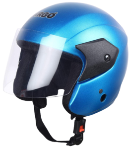 TVS Jupiter Light Blue Virgo Helmet
