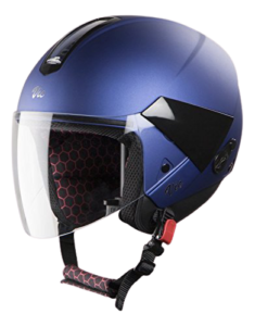 TVS Jupiter Mate Blue steelbird Helmet