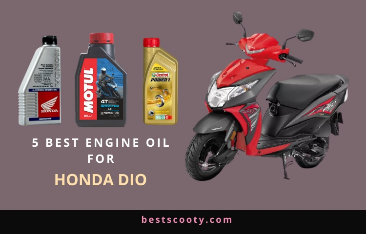 best engine oil for honda Dio