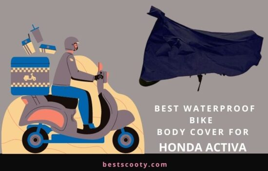Waterproof Bike Body Cover for Honda Activa