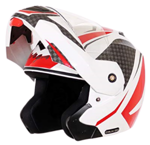 Vega Crux Dx Checks White Red Helmet