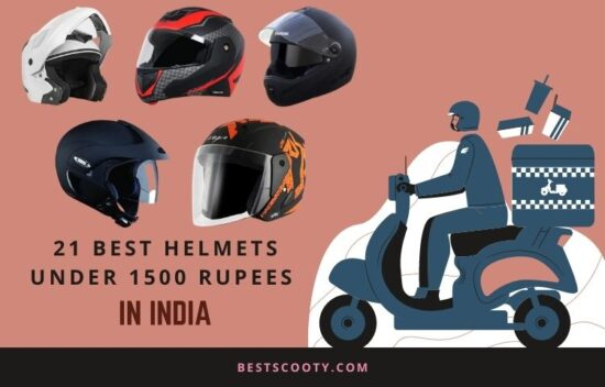 Best helmets under 1500 Rupees in India